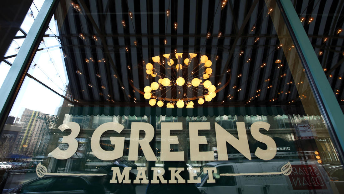 A visit to 3 Greens Market, where the Small Cheval burger, Doughnut Vault and coffee co-exist